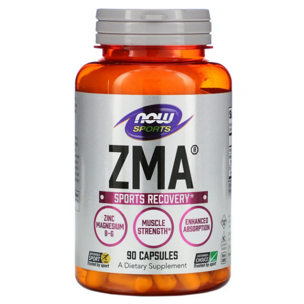 NOW Foods ZMA 800 мг - 90 капс
