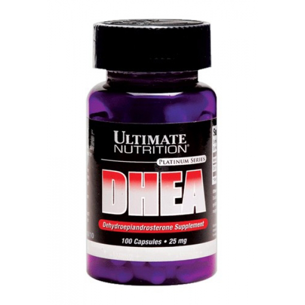 Ultimate Nutrition DHEA 25 mg 100 кап