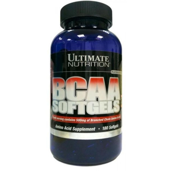 Ultimate Nutrition BCAA SOFTGELS - 180 caps