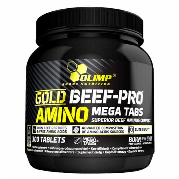 Olimp Sport Nutrition Gold Beef Pro Amino (300 таб)