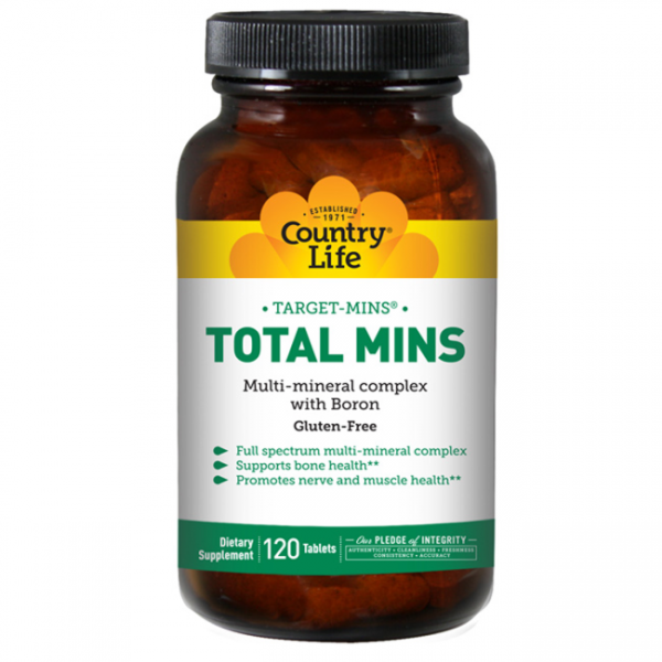 Country Life Total Mins 120 tab