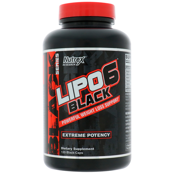 Nutrex Research Lipo-6 Black Ultra Concentrate Intl - 60 жидк. капс NEW
