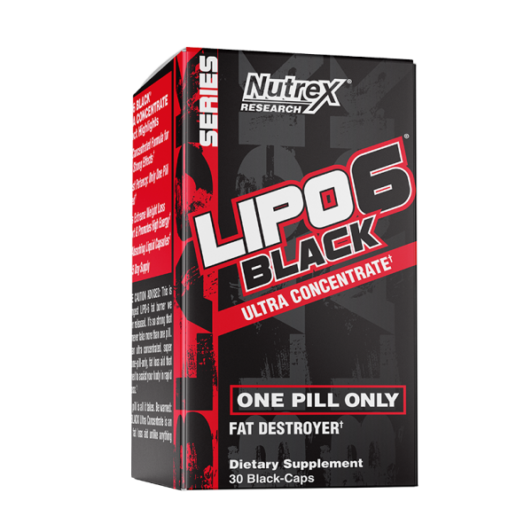 Nutrex Research Lipo-6 Black Ultra Concentrate 30 кап