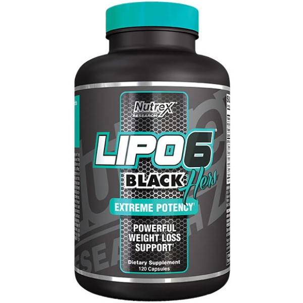 Nutrex Research Lipo-6 Black Hers Powerfull 120 кап