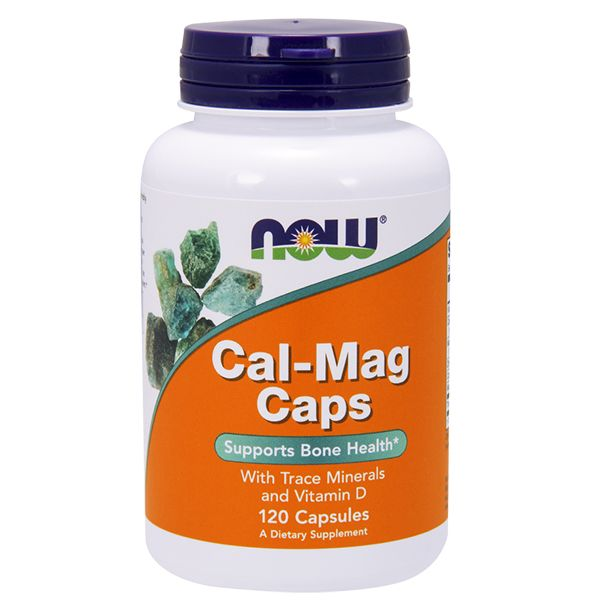 NOW Foods CAL-MAG - 120 капс