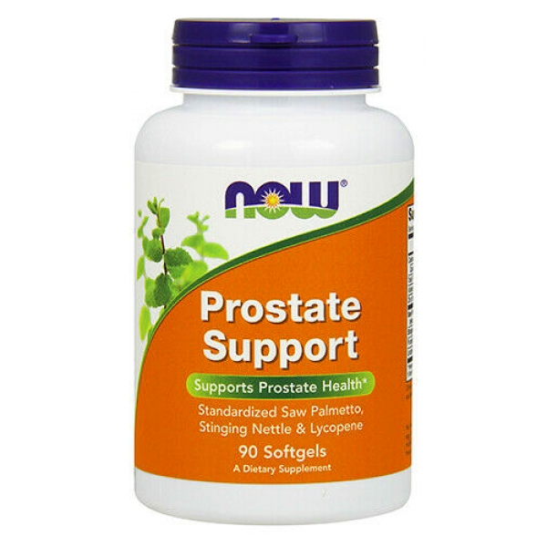NOW Foods Prostate support 90 софт гель
