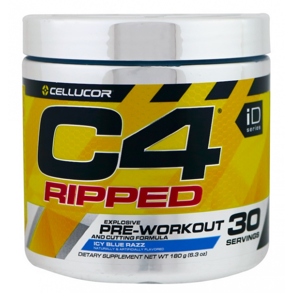 Cellucor C4 Ripped 180 г - icy blue razz